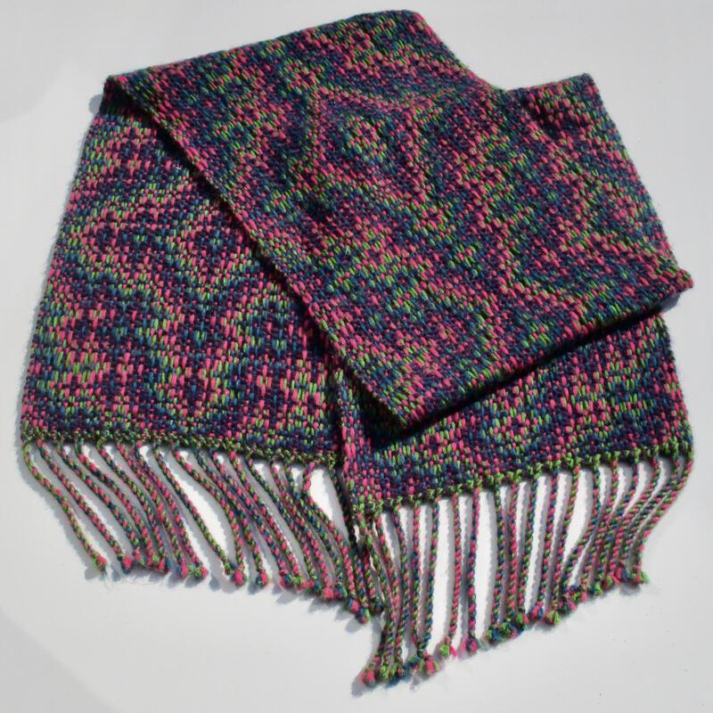 Complete shawl of experiment 2